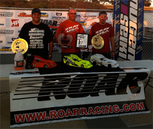 KO Sweeps top 3 for 1/8th Open @ ROAR Nationals